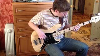 Chik-Just Out of Reach [bass cover]