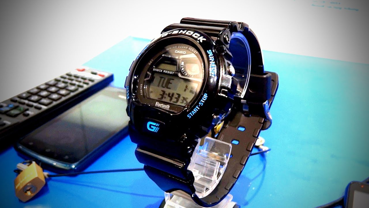 Casio G-Shock GB-6900 Bluetooth Smart Watch CES 2012 thumbnail