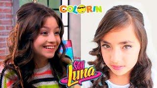 Peinado Soy Luna | Peinados Para Halloween | Hairstyle Halloween