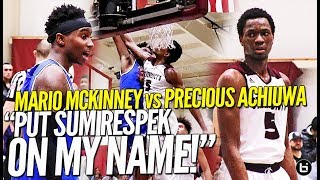 """""""PUT SUM RESPEK ON MY NAME!!"""" Mario Mckinney Puts Up a FIGHT Against The Best Team In New Jersey!"""