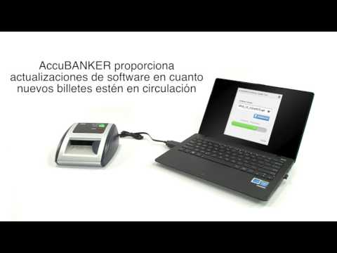 AccuBanker-Detector automático de billetes D450