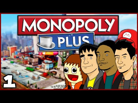 WELCOME BACK TO MONOPOLY! (Monopoly Plus: Part 1 w/ The Derp Crew)