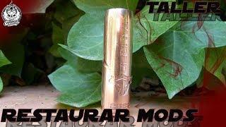 Restaurar mod mecánico | Quitar pintura estropeada | THC Tauren