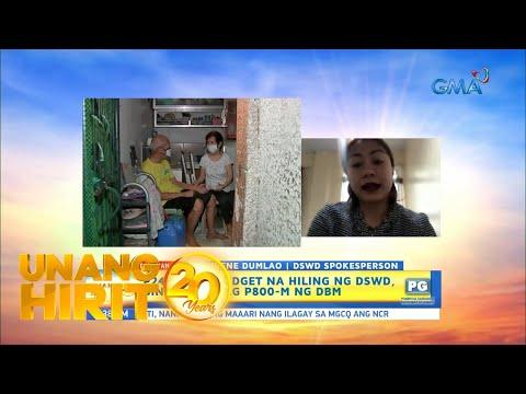 [GMA]  Unang Hirit: Budget ng DSWD, binawasan ng P800 milyon!