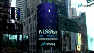 WISeKey International Holding AG (Nasdaq: WKEY) to Ring The Nasdaq Stock Market Closing Bell