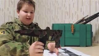 обзор моего ящика с оружием и не только