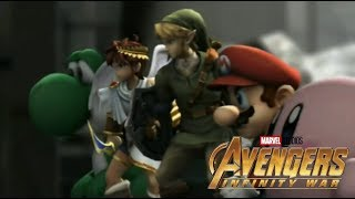 Super Smash Bros. Brawl Trailer 2 (Avengers: Infinity War Style)