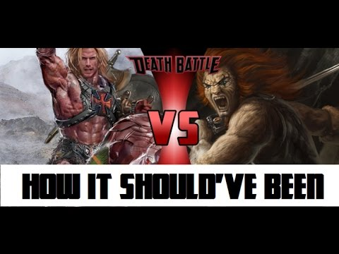How He-Man VS Lion-O Should've Been