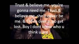 Keyshia Cole- Trust & Believe (lyrics on screen)