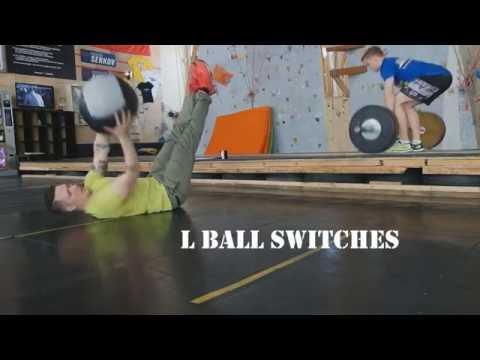 Мяч медицинский (волбол) WALL BALL 3 кг