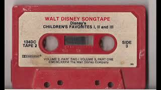Disney Children's Favorites Vol. 1, 2, and 3 TAPE 2