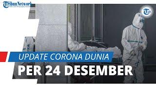 Update Infeksi Covid-19 Global Kamis (24/12): Kasus Aktif Sentuh 21 Juta