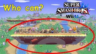Who Can Make It Around Smashville? - Super Smash Bros. for Wii U