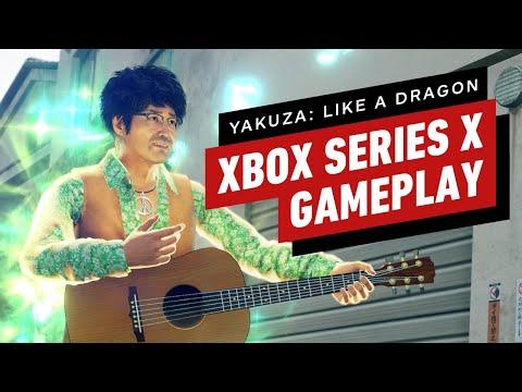 Yakuza: Like a Dragon: 6 Minutes of Xbox Series X Gameplay de Yakuza : Like a Dragon