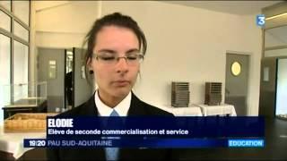 preview picture of video 'Nos formations à l'honneur - LP HAUTE VUE - MORLAAS'