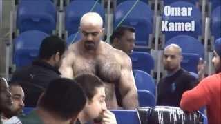 Syrian strong man Omar Kamel