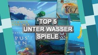 Top 5 Brettspiele Unter Wasser