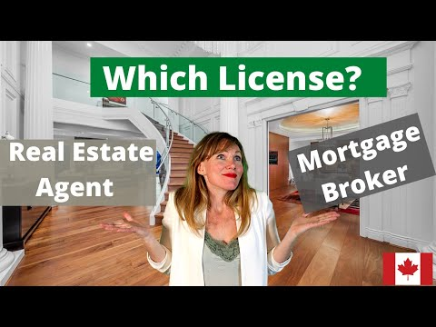 Real Estate License vs Mortgage Broker