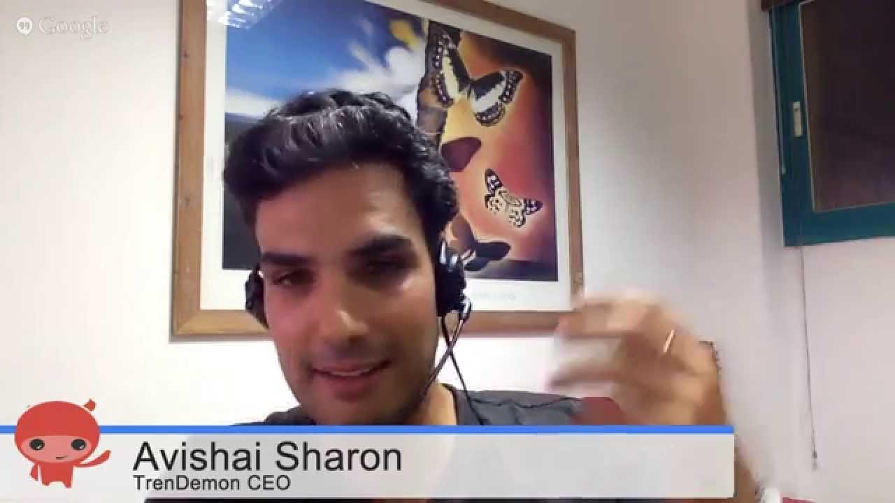 TrenDemon:  Founder Avishai Sharon * WTTV 1.25