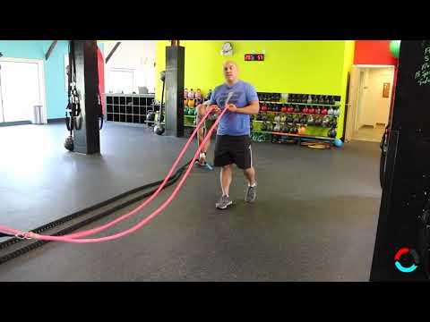 Inertia Wave vs Battle Rope