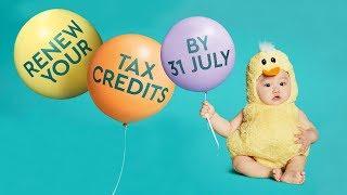 Tax credits renewals 2019