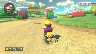 SNES Donut Plains 3 - 1:14.355 - Zγ Danny (Mario Kart 8 World Record)