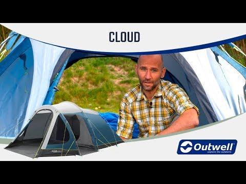 9679823a2b4 Триместна палатка Outwell Cloud 3 модел 2019 | Палатки ...