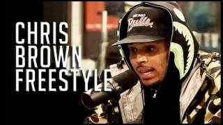 Chris Brown - Freestyle In Studio (2016)