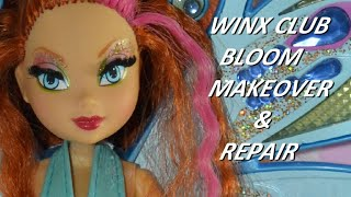 Winx Club Bloom Fairy Doll - Makeover And Repair