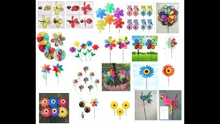 Factory wholesale plastic outdoor windmill promotion gift item youtube video