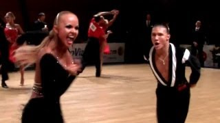 preview picture of video 'final samba - Brno Open 2013, WDSF WO latin'