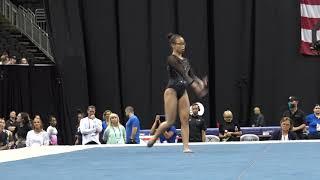 Morgan Hurd– Floor Exercise – 2019 U.S. Gymnastics Championships – Senior Women Day 1
