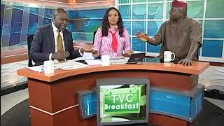 TVC Breakfast 19th January 2019   Newspaper Review with Gbola Oba
