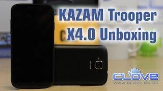 KAZAM Trooper X4.0 Unboxing