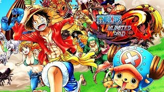 One Piece: Unlimited World Red – The Movie / All Cutscenes + Boss Fights 【HD】