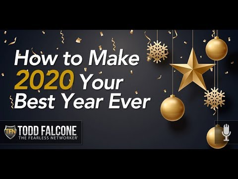 How to Make 2020 Your Best Year Ever
