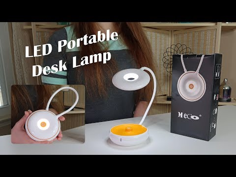 💥 LED DESK LAMP TRAVEL LIGHT (Gooseneck Combo Hanging Light) Review 👈