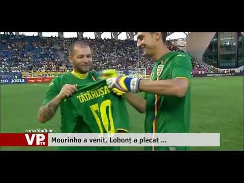 Mourinho a venit, Lobonț a plecat …