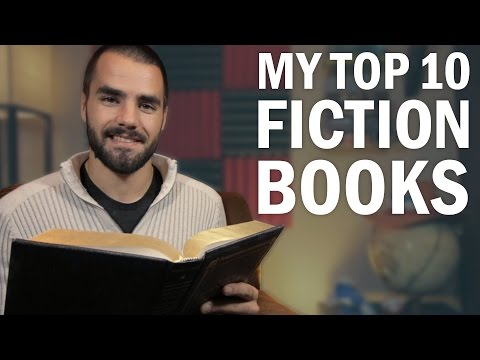 My Top 10 Favorite Fiction Books!