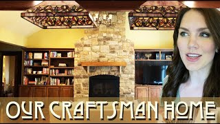 Craftsman Home Tour! | Wood Trim House
