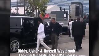 Lauren London Wave To Fans At Nipsey's Funeral Procession - GlobalHipHopDay