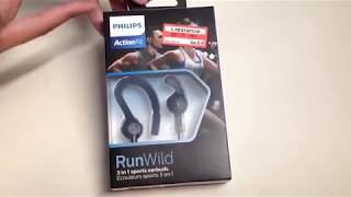 Philips ActionFit RunWild Earbuds Unboxing