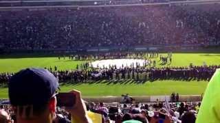 La serenata mas grande de mariachis en la copa oro 2013 ,se rompe record Guinness