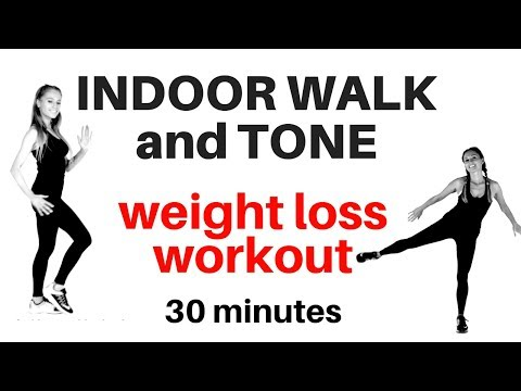 WEIGHT LOSS WALKING AT HOME WORKOUT WITH FULL BODY TONING - WALK AWAY THE POUNDS  - START TODAY