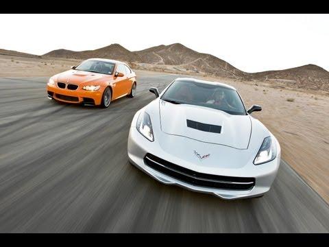 2014 Chevy Corvette Stingray vs 2013 BMW M3 | Track Tested