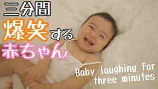 3分間大爆笑する赤ちゃん(Laughing Baby)