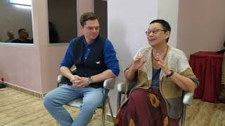 Терапевтические отношения в гештальт-терапии | Н. Голосова и К.Логинов | Интенсив в Армении 2018