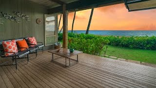 A Surfers Dream Home With Iconic Views In Haleiwa, Hawaii