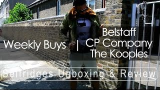 Belstaff CP Company The Kooples | Weekly Buys | Selfridges.com