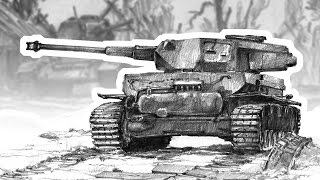 Battle Of Tanks  Time Lapse Drawing